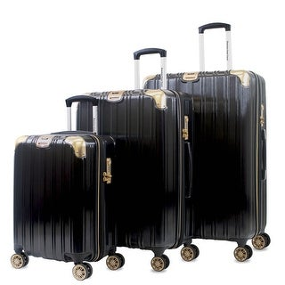 Link to AGT Melrose S 3-Piece Anti-theft TSA Spinner Luggage Set Similar Items in Luggage Sets
