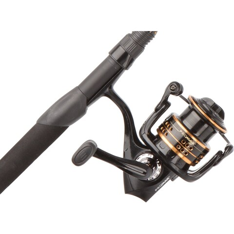 "Abu Garcia Pro Max Fishing Rod and Reel Spinning Combo (6'6"")"