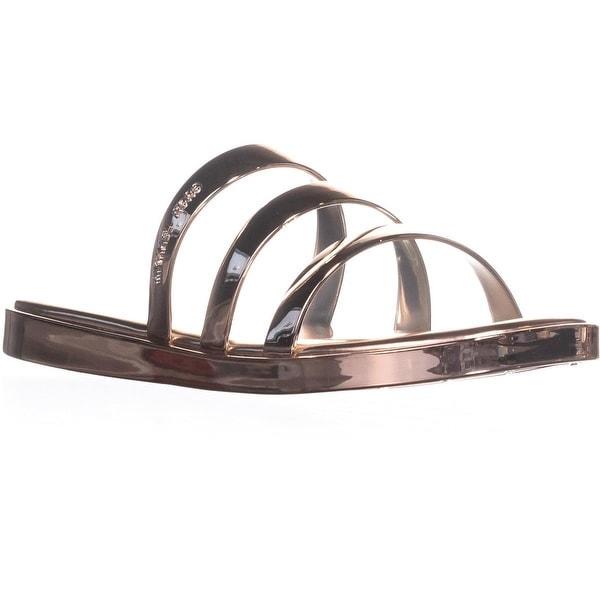 MICHAEL Michael Kors Keiko Slide Sandals, Rose Gold - 9 us / 39 eu