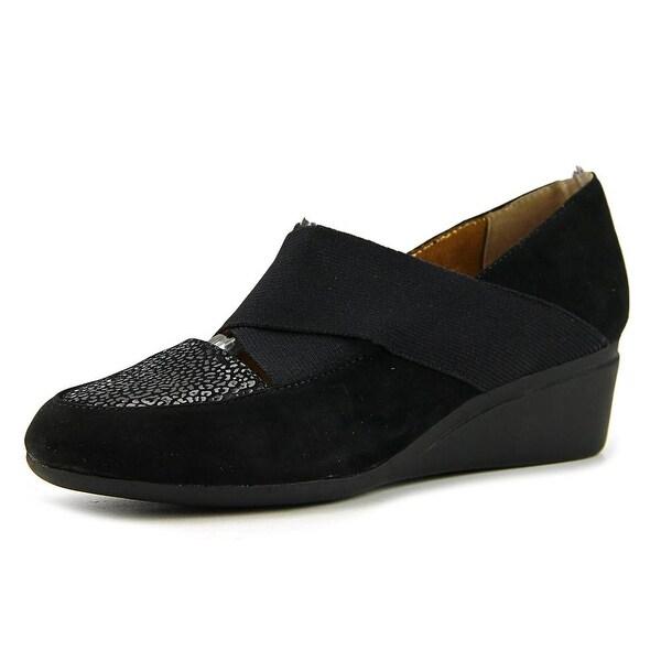 J. Renee Phina Women Black Sandals