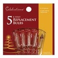 Celebrations 1155-2-71 Mini Replacement Bulbs, 6 V, Clear - Thumbnail 0