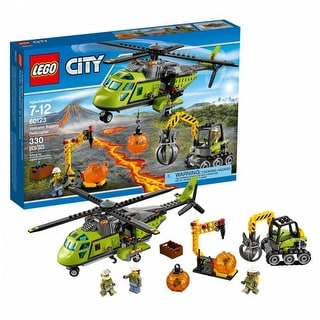 LEGO(R) City Volcano Helicopter (60123)