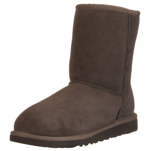 5a26a828d066 Shop UGG Australia Girls  Classic Short Sheepskin Fashion Boot Chocolate 3  M US - Free Shipping On Orders Over  45 - Overstock - 20292952