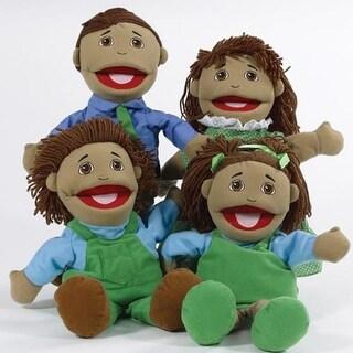Hispanic Family Puppet Set