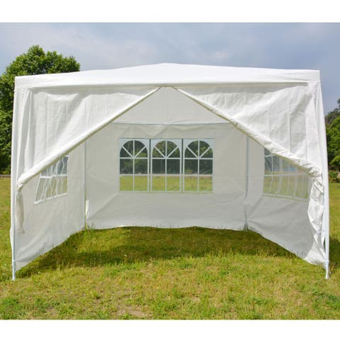 3 x 3m Four Sides Portable Home Use Waterproof Tent with Spiral Tubes