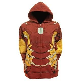 Marvel Comics Iron Man Suit Up Fleece Hoody