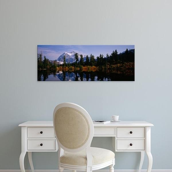 Easy Art Prints Panoramic Image 'Mount Shuksan, North Cascades National Park, Washington' Canvas Art