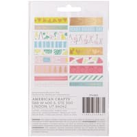 American Crafts Memory Planner Washi Tape Stickers 2/Pkg-