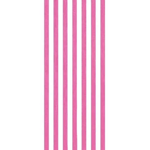 Cabana Stripes Pink 30x60 Brazilian Velour Beach Towel