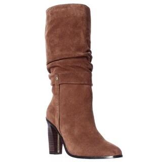 Donald J Pliner Odessaol Slouch Boots, Chestnut/Chestnut