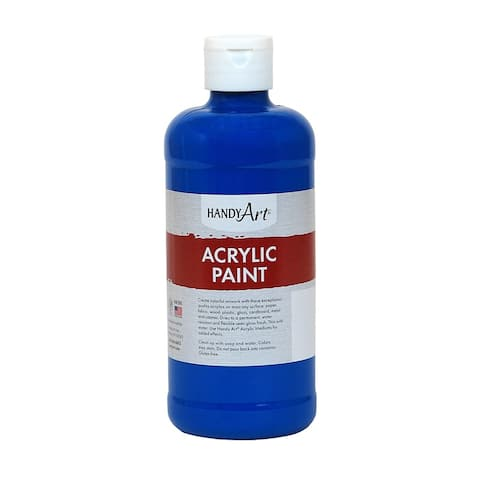 Handy art acrylic paint 16 oz phthalo blue 101060