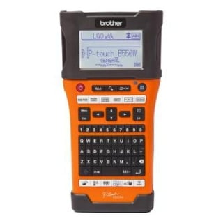 Brother P-touch EDGE Electronic Label Maker PT-E550W Industrial Wireless Handheld Labeling Tool