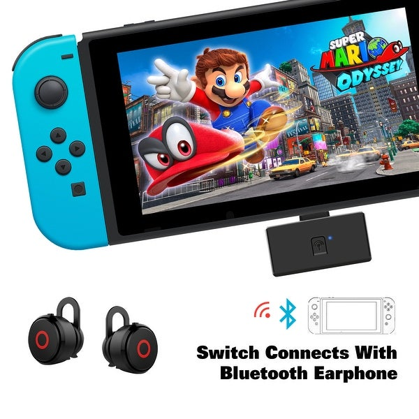 Shop AGPtek Wireless Bluetooth Audio Transmitter For Nintendo Switch, PS4, PC , Bluetooth