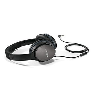 Bose QuietComfort 25 Acoustic Noise Cancelling Headphones - Black (wired, 3.5mm)