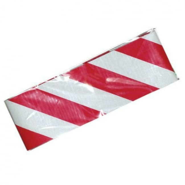 CH Hanson 55304 Self Adhesive Reflective Safety Tape, 2 x 24, Red/Silver