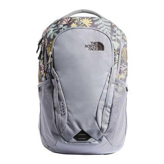 aaf4952f5fb Shop The North Face Women s Vault Backpack Mid Grey Woodland Floral  Print Mid Grey - US Women s One Size (Size None) - Free Shipping Today -  Overstock - ...