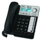 At&T Ml17929 2-Line Corded Speakerphone With Caller Id/Call Waiting Lcd Display, Black