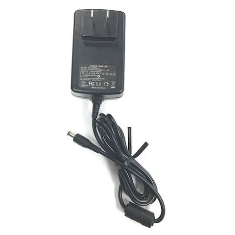 """AC Adapter Power Supply Charger for LED LCD TVs and TV-DVD Televisions up to 15"""" (12V, 3A, 36W, 2.1mm x 5.5mm)"""