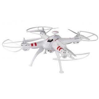 Worryfree Gadgets RC Quadcopter with WiFi Live Camera, White