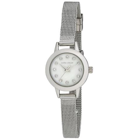 Laura Ashley Women's Mini 22mm Mesh Bracelet Watch