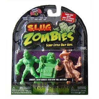 S.L.U.G. Zombies Wave 2 Macho Mangler, Flesh-Eatin' Phil, Buck Wilde - multi