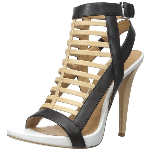 Calvin Klein Womens Nalo Open Toe Casual Strappy Sandals