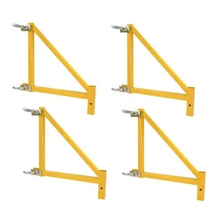 Offex 4 Piece Set 18 Inch Scaffolding Outriggers - Yellow
