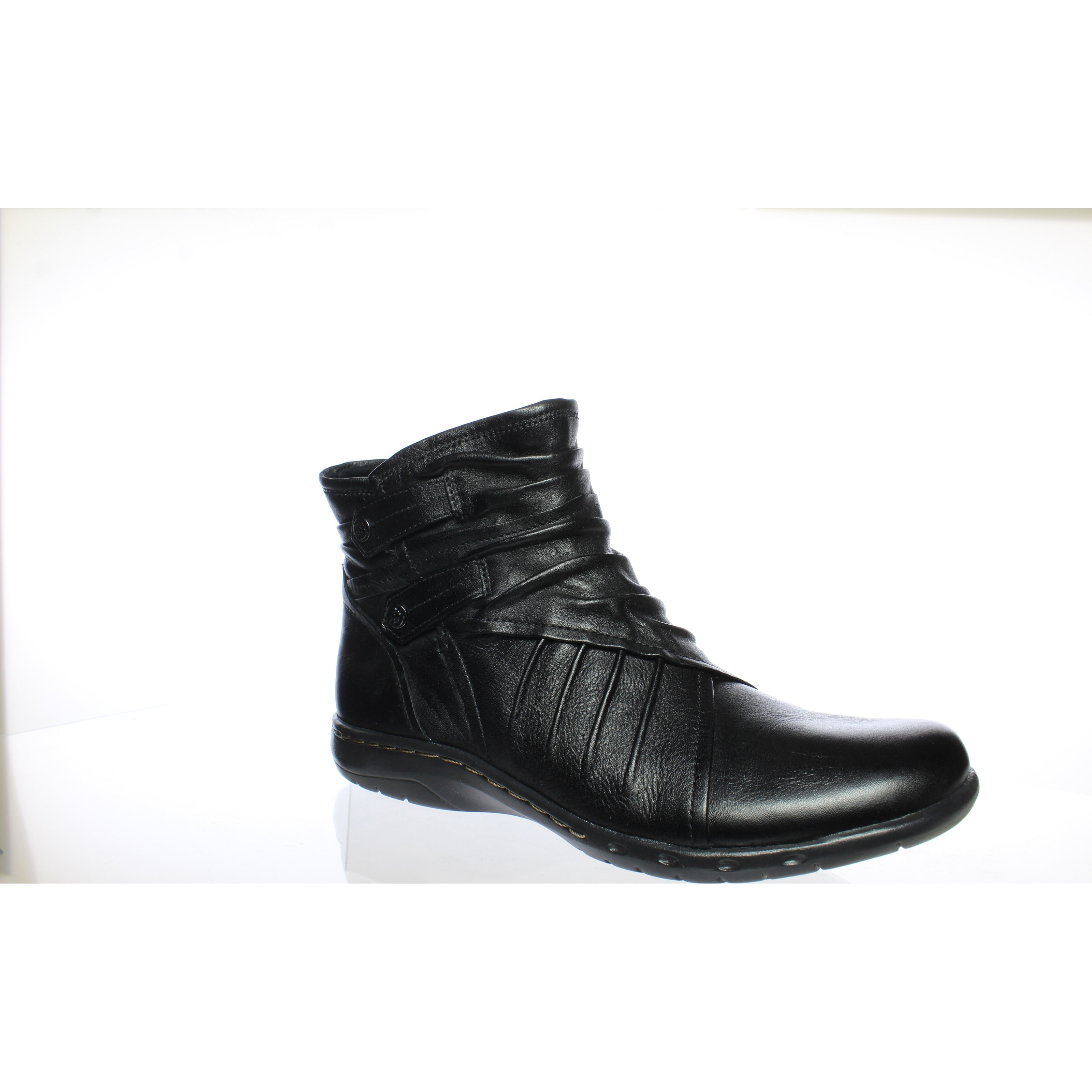 Pandora Black Ankle Boots Size 7 (AA,N