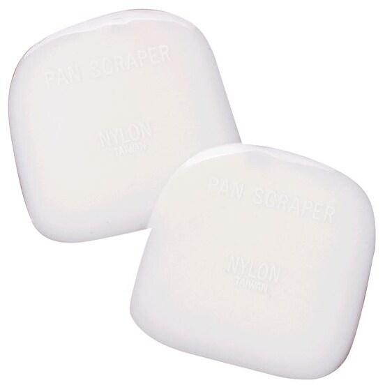 HIC 43142 Nylon Pot Scrapers, Set of 2