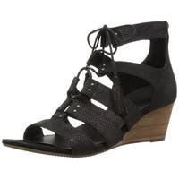 Ugg Womens Yasmin Leather Open Toe Casual Platform Sandals