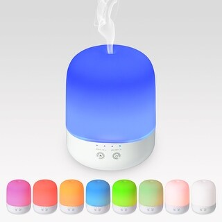 300ml Essential Oil Diffuser 7 colors LED Light Aromatherapy Ultrasonic Cool Mist Humidifier