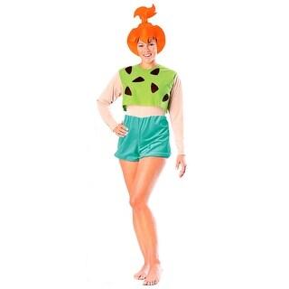 Pebbles Flintstone Adult Costume - Flintstones Pebbles Costumes