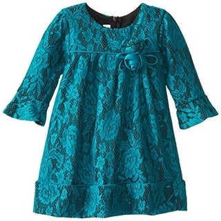 Bonnie Jean Toddler Lace Party Dress - 2T