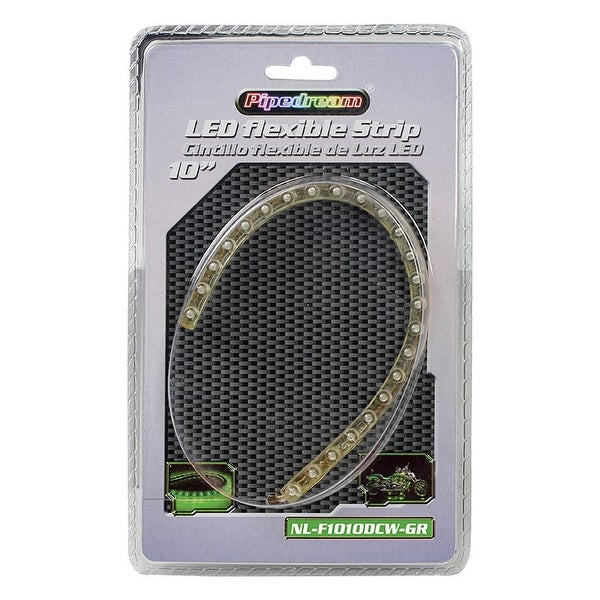 "Audiopipe Flexible Weather Proof Led Strips 10"" Green"