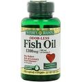 Nature's Bounty Odorless Fish Oil, 1200mg, Softgels, 60 ea - Thumbnail 0