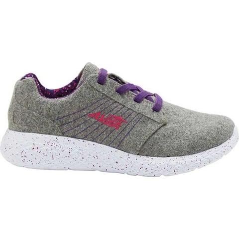 Avia Girls' AVI-Kismet Sneaker Silver Filigree/Tillandsia/Fuchsia Purple