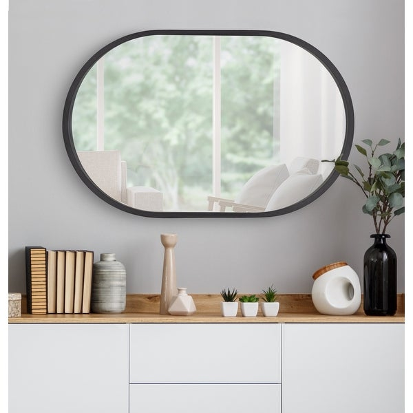 Kate and Laurel Travis Capsule Framed Wall Mirror. Opens flyout.