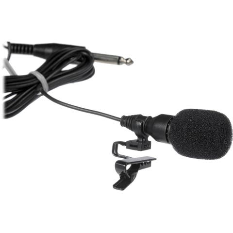 Oklahoma Sound MIC-3 Tie Clip Mic - 10 Foot Cable