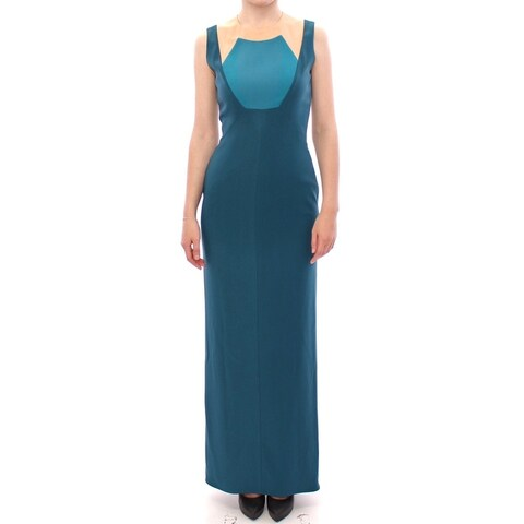 CO TE CO TE Blue sleeveless maxi dress - it40-s