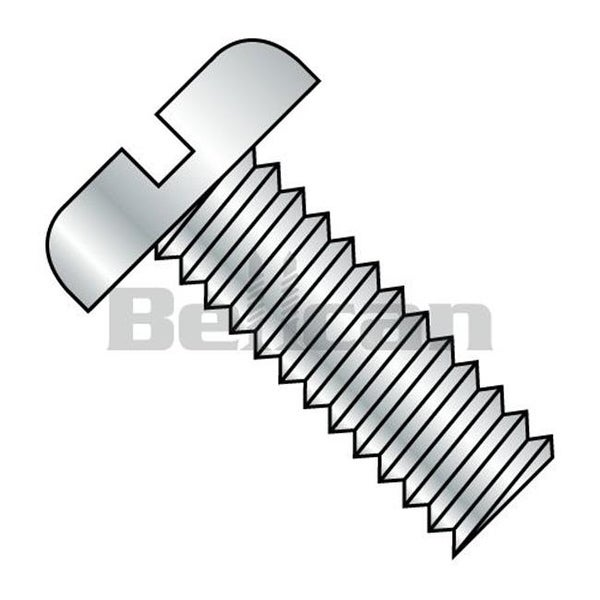 Shop No 8 32 X 3 25 Slotted Fully Threaded Pan Machine Screw