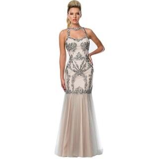 Terani Couture Sleeveless Prom Formal Dress