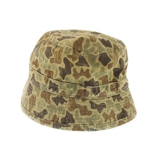 A. Kurtz Mens Camouflage Cotton Fisherman Hat - o/s