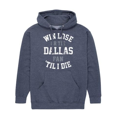 Win Lose or Tie Dallas - Adult Pullover Hood