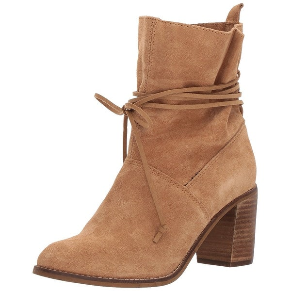TOMS Womens mila Suede Almond Toe Ankle Fashion Boots