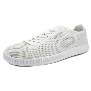 Puma Bolt Lite Low Men  Round Toe Synthetic White Sneakers