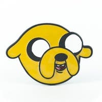 Adventure Time Belt Buckle: Jake - Yellow