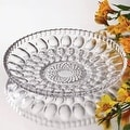Studio Silversmiths Clarice Large Crystal Plate - Thumbnail 0