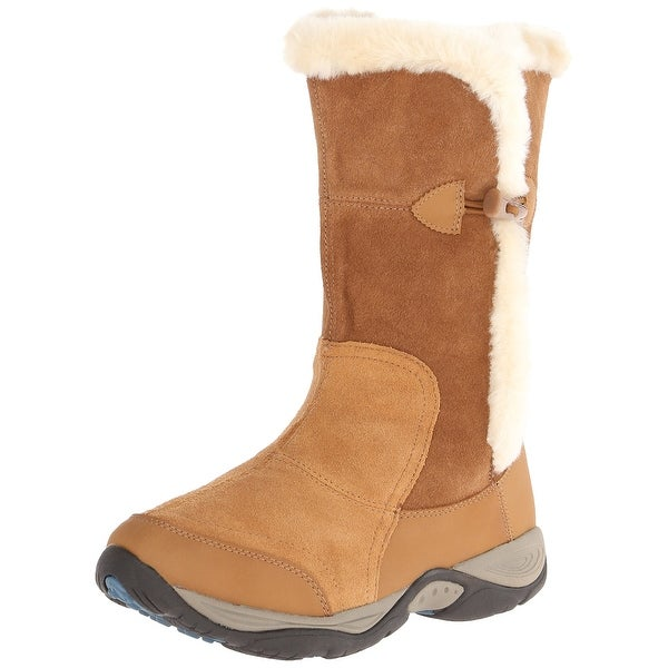 Easy Spirit NEW Brown Enara Shoes Size 6W Snow Winter Suede Boots