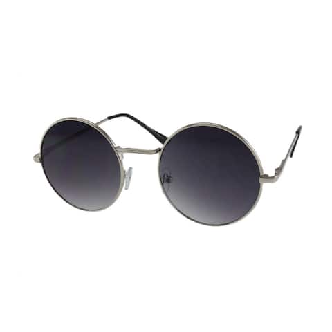 MQ Presley - Celebrity Inspired Round Metal Sunglasses