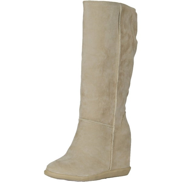 Mfs Women Tom-02 Boots - Sand Suede - 10 b(m) us